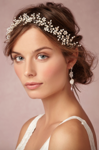 Pearly Dreams Halo by Twigs and Honey