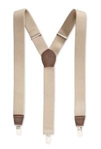 Club Room Men's Solid Suspenders