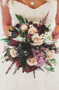 Lavender, Burgundy and Cream | Image by Mike & Emma Bowering