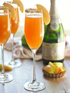 Apple Cider Mimosa | Image by Becky Hardin