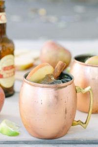 Apple Cider Moscow Mules | Image by Sugar Charm