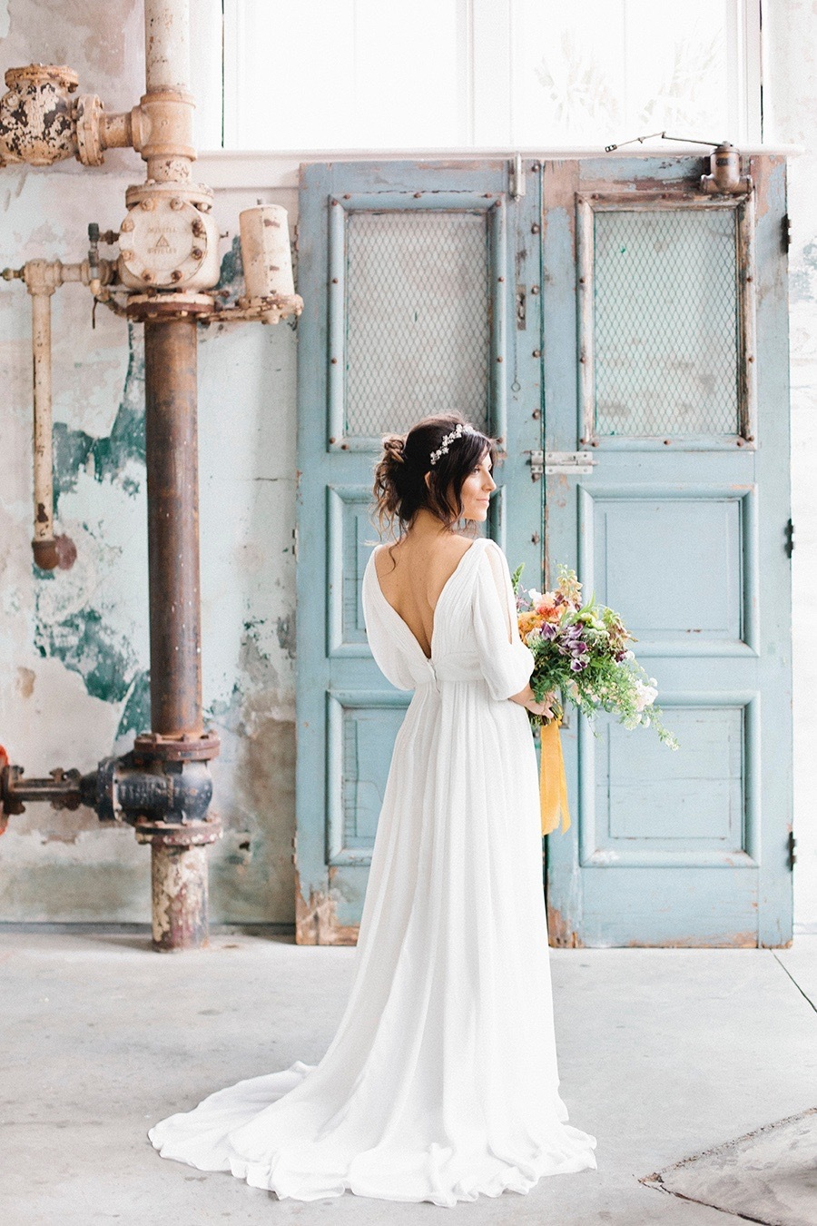 Image by Finch and Farrow   Dress by Alva Bridal